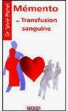 couverture du livre : Mémento de transfusion sanguine