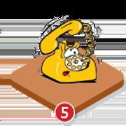 icone d'un téléphone pour la gestion post-don