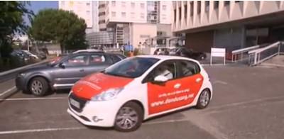 Photo du taxis du don de sang