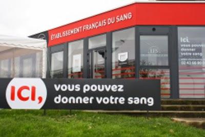 Photo de la maison du don de sang à Laval