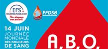 Affiche de la journ�e mondiale des donneurs de sang 2017
