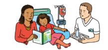 Fiche explicatif de la transfusion sanguine aux enfants.