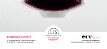 Affiche de la campagne du don de sang r�alis�e par l'ECV