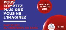 Op�ration don du sang pour l'ISEG de Nantes