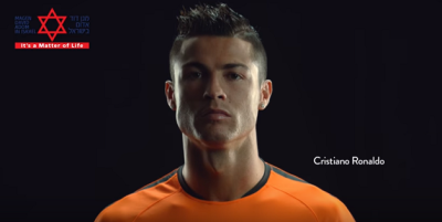 Promotion du don de sang de Cristiano Ronaldo