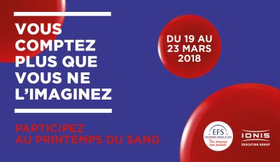 Opération don du sang pour l'ISEG de Nantes