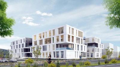 Nouveau siège de l'EFS Hautes-de- France-Normandie