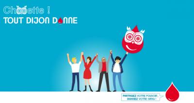 Affiche de la campagne pour le don du sang