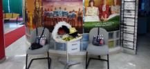 D?coration de la Maison du don de sang de Cannes pour le festival du cin?ma