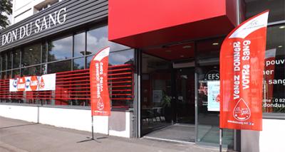 Photo de la Maison du don de sang à Lille