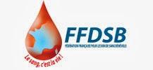 Logo de la F�d�ration Fran�aise des Donneurs de Sang B�n�voles (FFDSB)