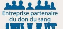 Logo du Challenge des entreprises pour d=C3=A9velopper le don de sang