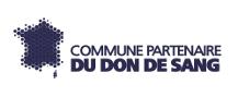 logo de commune partenaire du don de sang