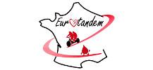 logo d'Eurotandem pour promouvoir le don de sang