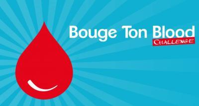 Affiche du challenge inter-étudiants #BougeTonBlood