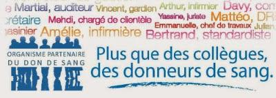 Logo du Challenge des entreprises pour développer le don de sang