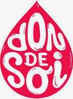 logo de l'association don de soi en forme de goutte de sang