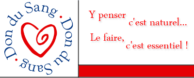 slogan du don de sang : y penser c'est naturel, le faire c'est normal