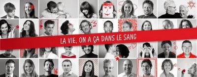 Campagne du don de sang : la vie, on a ça dans le sang