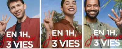 Campagne de don du sang : prenez1h pour sauver 3 vies