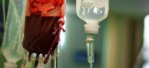 Photo d'une transfusion sanguine